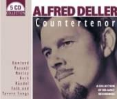 DELLET ALFRED  - 5xCD COUNTERTENOR