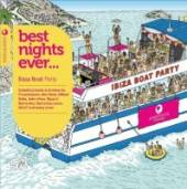 VARIOUS  - CD BEST NIGHTS EVER - IBIZA BOAT
