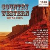 VARIOUS  - 10xCD 200 NO. 1 HITS / COUNTRY & WESTERN