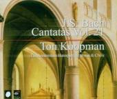 BACH JOHANN SEBASTIAN  - 3xCD COMPLETE CANTATAS VOL.21