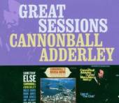 ADDERLEY CANNONBALL  - 3xCD GREAT SESSIONS