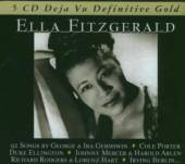 FITZGERALD ELLA  - 5xCD DEFINITIVE GOLD
