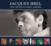 BREL JACQUES  - 4xCD SEVEN CLASSIC ALBUMS