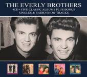 EVERLY BROTHERS  - 4xCD FIVE CLASSIC AL..