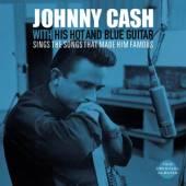CASH JOHNNY  - VINYL WITH HIS HOT.. -COLOURED- [VINYL]