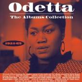 ODETTA  - 5xCD ALBUMS COLLETION 1954-62