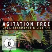 AGITATION FREE  - 4xCD+DVD LAST, FRAGMENTS & LIVE '74