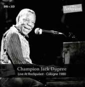DUPREE CHAMPION JACK  - 3xCD+DVD LIVE AT ROC..