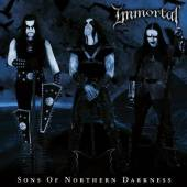 IMMORTAL  - 2xVINYL SONS OF NORT..