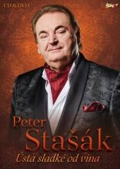 STASAK PETER  - 2xCD+DVD USTA SLADKE OD VINA CD+DVD