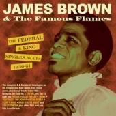BROWN JAMES  - 2xCD FEDERAL & KING SINGLES..