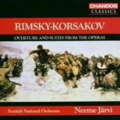 NEEME JARVI  - CD RIMSKY-KORSAKOV: ..