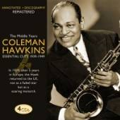 HAWKINS COLEMAN  - 4xCD MIDDLE YEARS 1939-1949