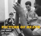 BAKER CHET & ART PEPPER  - CD PICTURE OF HEATH