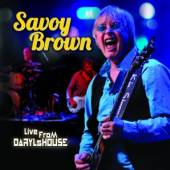 BROWN SAVOY  - DVD LIVE FROM DARYL'S HOUSE