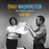 WASHINGTON DINAH  - VINYL FOR THOSE IN LOVE-HQ/LTD- [VINYL]