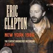 ERIC CLAPTON  - CD+DVD NEW YORK 1986 (2CD)