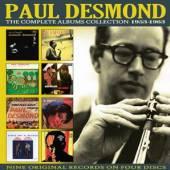 PAUL DESMOND  - 4xCD THE COMPLETE AL..