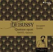 JERUSALEM QUARTET  - CD DEBUSSY - RAVEL QUATUORS