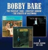 BOBBY BARE  - CD+DVD THE TRAVELIN'..