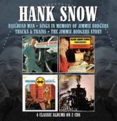 HANK SNOW  - CD+DVD RAILROAD MAN ..