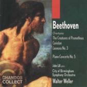 WALTER WELLER/CBSO  - CD BEETHOVEN - OVERTURES/PIANO CONCERTO