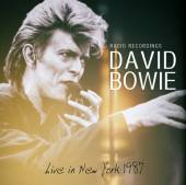 DAVID BOWIE  - CD LIVE IN NEW YORK 1987