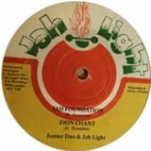 JUNIOR DAN & JAH LIGHT  - VINYL ZION CHANT -10/EP/LTD- [VINYL]