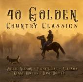 VARIOUS  - 2xCD 40 GOLDEN COUNTRY..