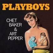 BAKER CHET & ART PEPPER  - VINYL PLAYBOYS -COLOURED- [VINYL]