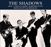 SHADOWS  - 4xCD 2 CLASSIC ALBUMS.. [DIGI]