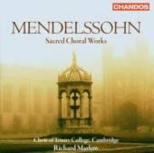 MENDELSSOHN FELIX BARTHOLDY  - CD SACRED CHORAL WORKS. SIX MOTET