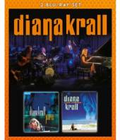 KRALL DIANA  - 2xBRD LIVE IN PARIS & LIVE IN.. [BLURAY]