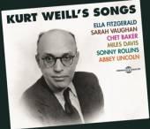 VARIOUS  - 3xCD KURT WEILL'S SONGS
