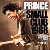 PRINCE  - CD+DVD SMALL CLUB 1988 (2CD)