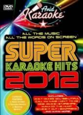 KARAOKE  - DVD SUPER KARAOKE HITS 2012