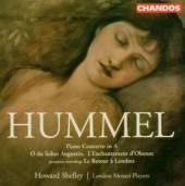 HUMMEL J N  - CD PIANO CONCERTO IN A NAJOR, O D