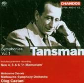 TANSMAN A  - CD SYMPHONIES VOLUME 1 THE WAR YE