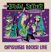BRIAN SETZER ORCHESTRA  - BRD CHRISTMAS ROCKS! LIVE [BLURAY]