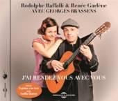 RAFFALLI RODOLPHE  - CD AVEC GEORGES BRASSENS -..