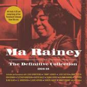 RAINEY MA  - 4xCD DEFINITIVE COLLECTION..