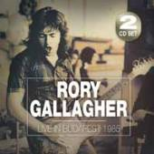 RORY GALLAGHER  - CD LIVE IN BUDAPEST 1985