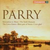 PARRY CH H  - 2xCD INVOCATION TO MUSIC, SOUL'S RA