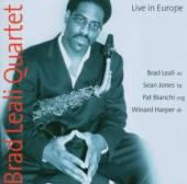 LEALI BRAD QUARTET  - CD LIVE IN EUROPE