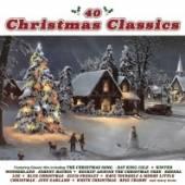 VARIOUS  - 2xCD 40 CHRISTMAS CLASSICS