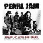 PEARL JAM  - VINYL STATE OF LOVE ..