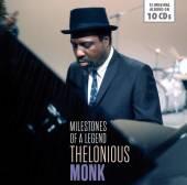 MONK THELONIOUS  - 10xCD MILESTONES OF A LEGEND