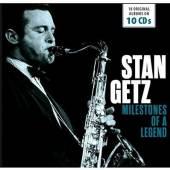 GETZ STAN  - 10xCD 18 ORIGINAL ALBUMS