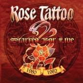ROSE TATTOO  - VINYL SCARRED FOR.. -COLOURED- [VINYL]