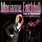 FAITHFULL MARIANNE  - CD LIVE IN HOLLYWOOD
